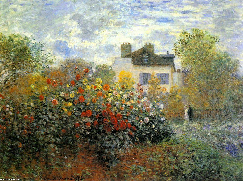 Claude Monet Le Jardin Des Monet A Argenteuil Argenteuil