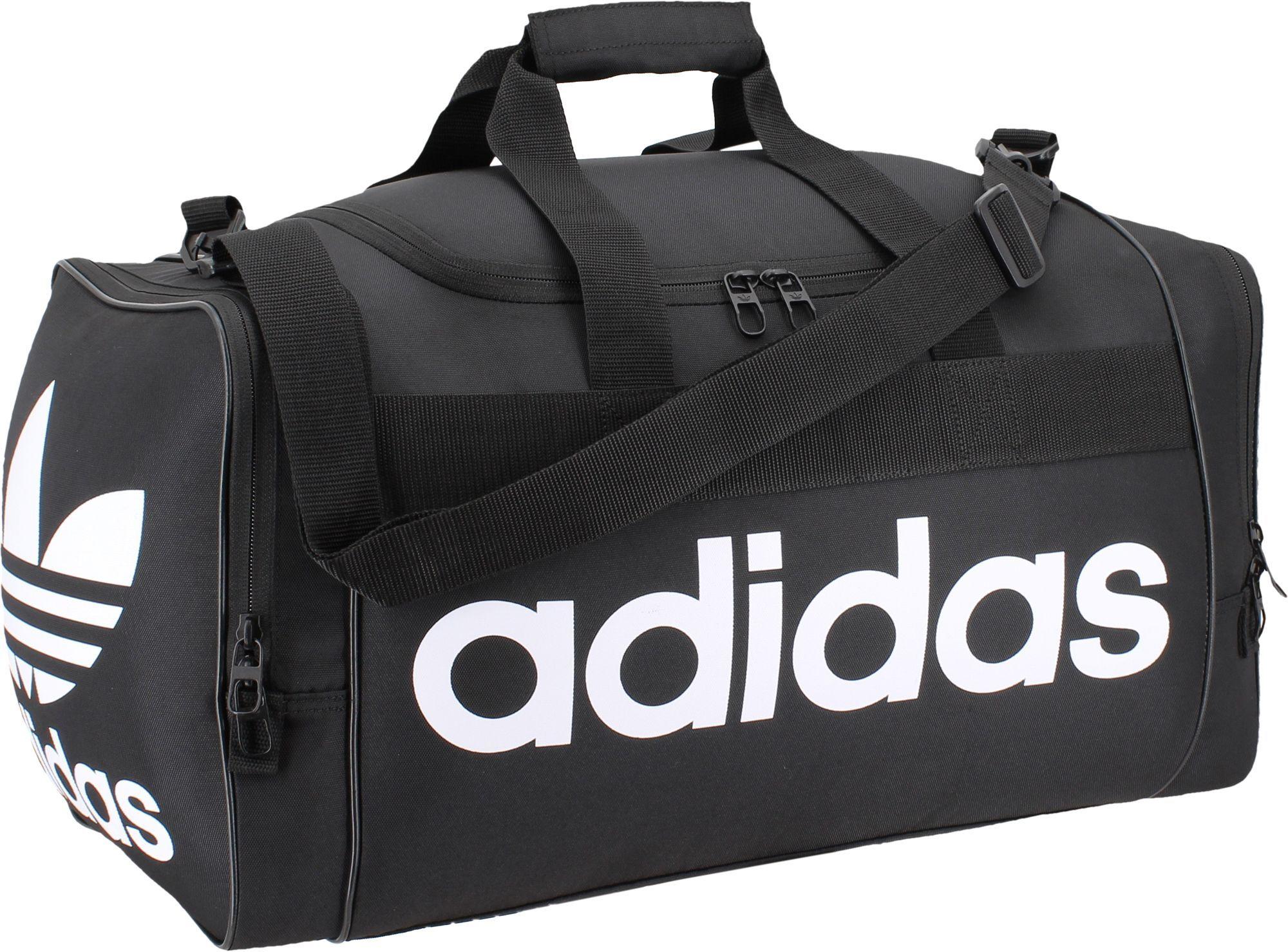 Adidas Originals Santiago Duffle Bag Black Duffel Bag Gym Bag
