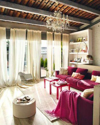 lamb & blonde: Pink Sofa Lust