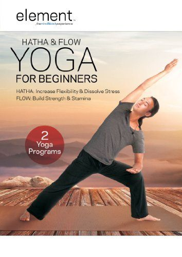 Element Hatha Flow Yoga For Beginners Dvd Tamal Dodge
