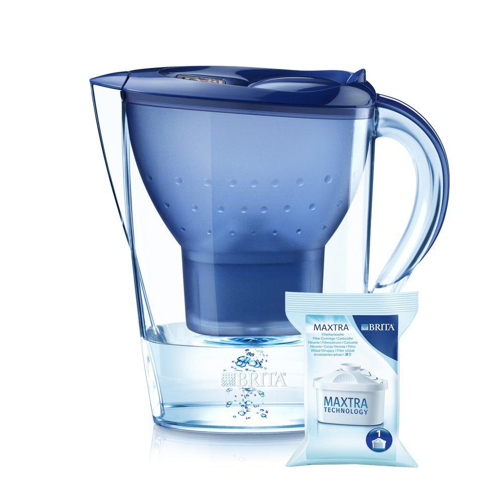 Brita Marella Xl Water Filter Jug 3 5 L Blue Water Filter Jugs Filter Jug Water Filter