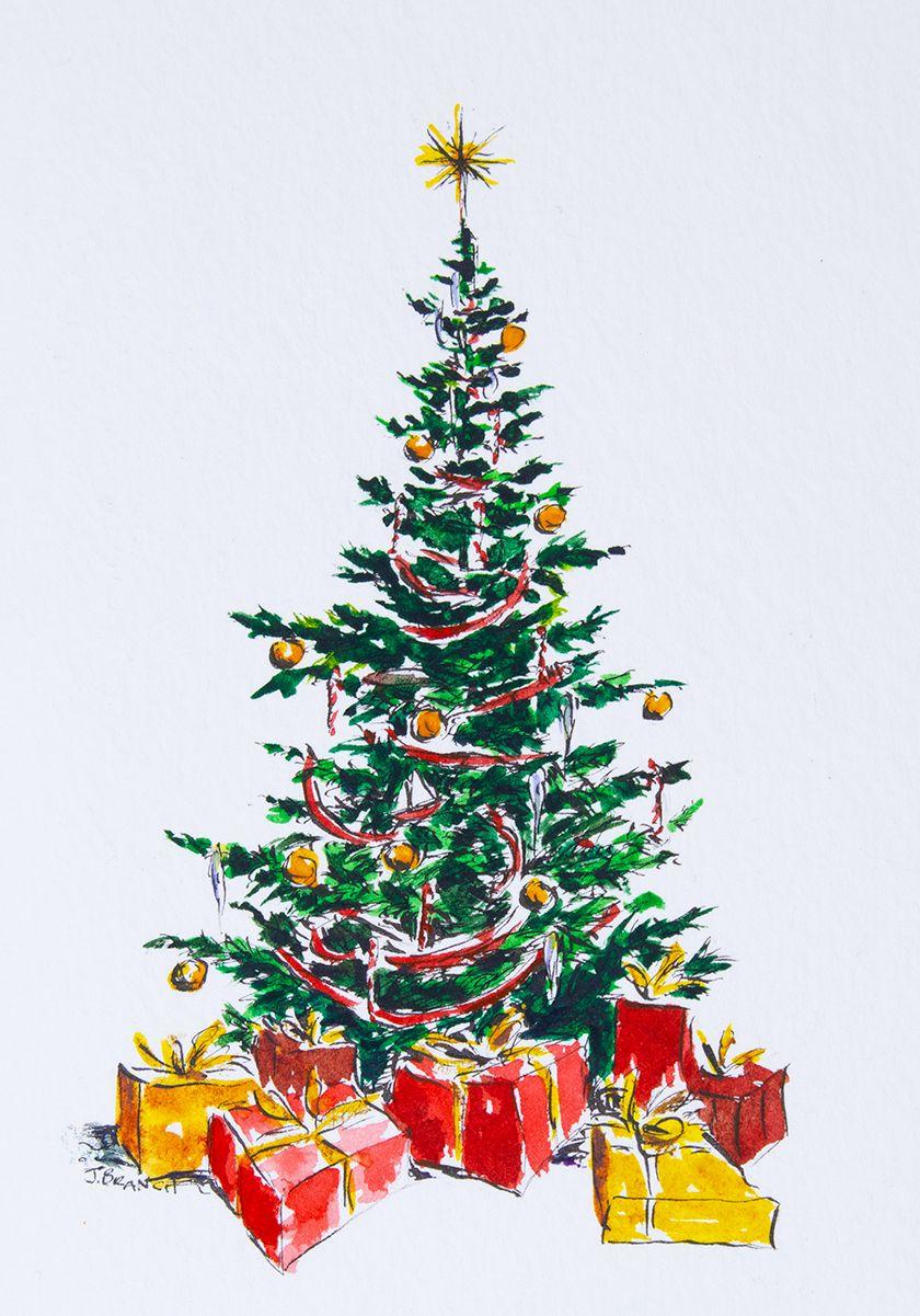 ▷ 1001 + idées de dessin de Noël faciles à faire soi même