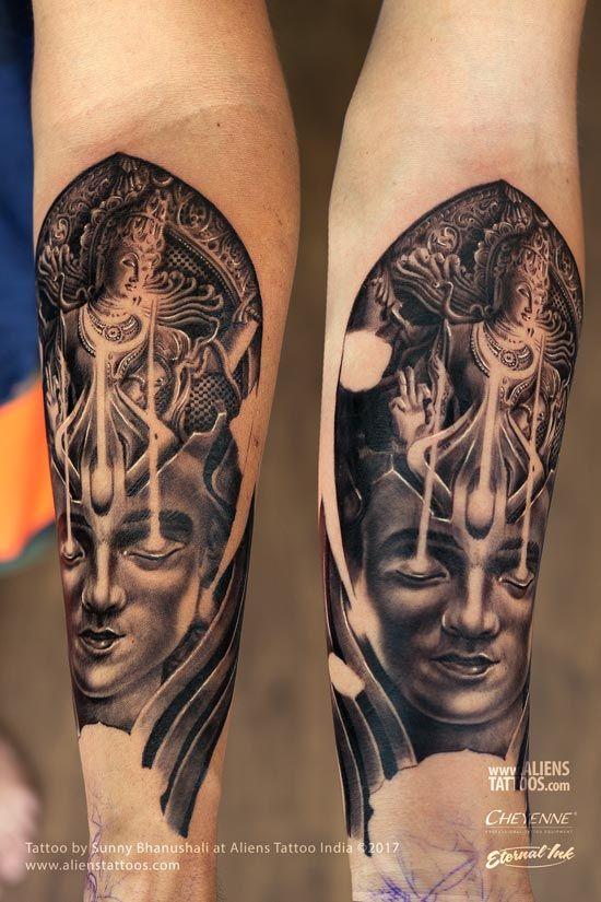 4abfce0f9 Trance of Shiva Nataraja Tattoo | Lord Shiva Tattoo Collection by ...