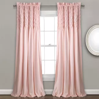 Shop For Rose Petals Blush Pink Curtains Online At Target Free
