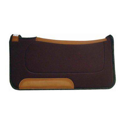 Diamond Wool Contoured Ranch Pad - 32 x 32 Chocolate - CR25-CHC, Durable