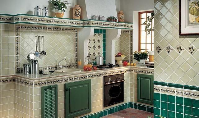 Кухонные фартуки из керамической плитки | Домашний бар ...