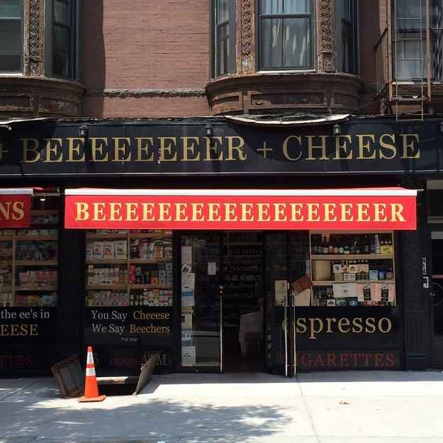 The 12 Best Signs I Ve Seen In New York City Shop Awning Thing 1 Thing 2 New York