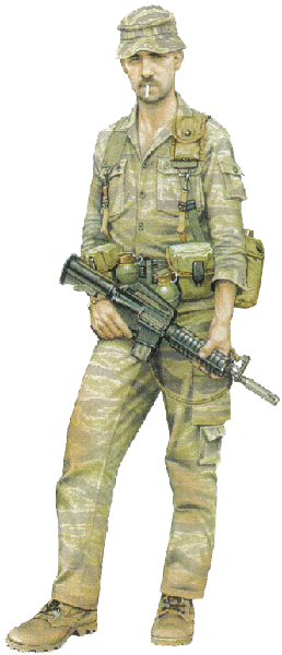 """Sergeant first class, 5th Special Forces Group (Airborne), 1970"""