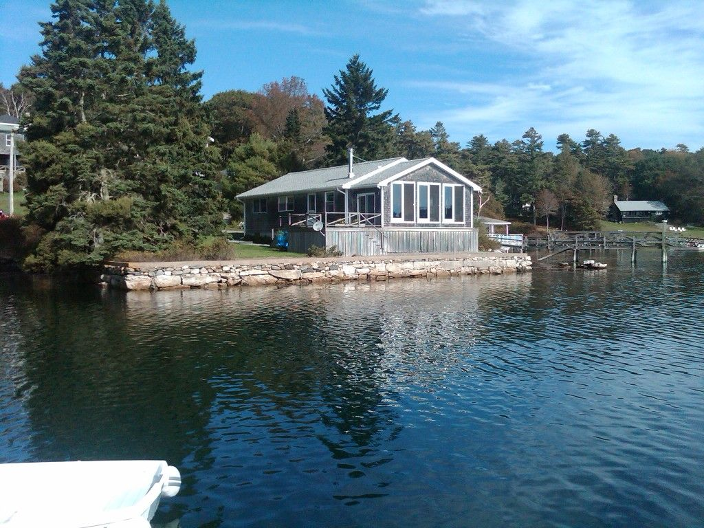 Cottage vacation rental in east boothbay from
