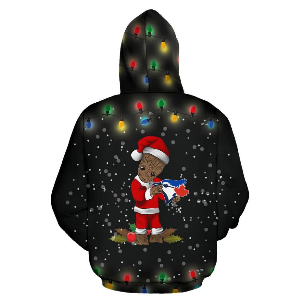 Special Merry Christmas Toronto Blue Jays Hoodie 2019
