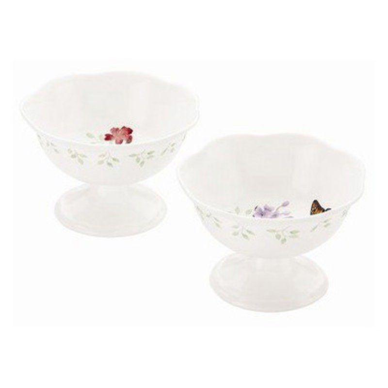 Lenox Erfly Meadow Footed Dessert Bowl Set Of 4 Lnox706