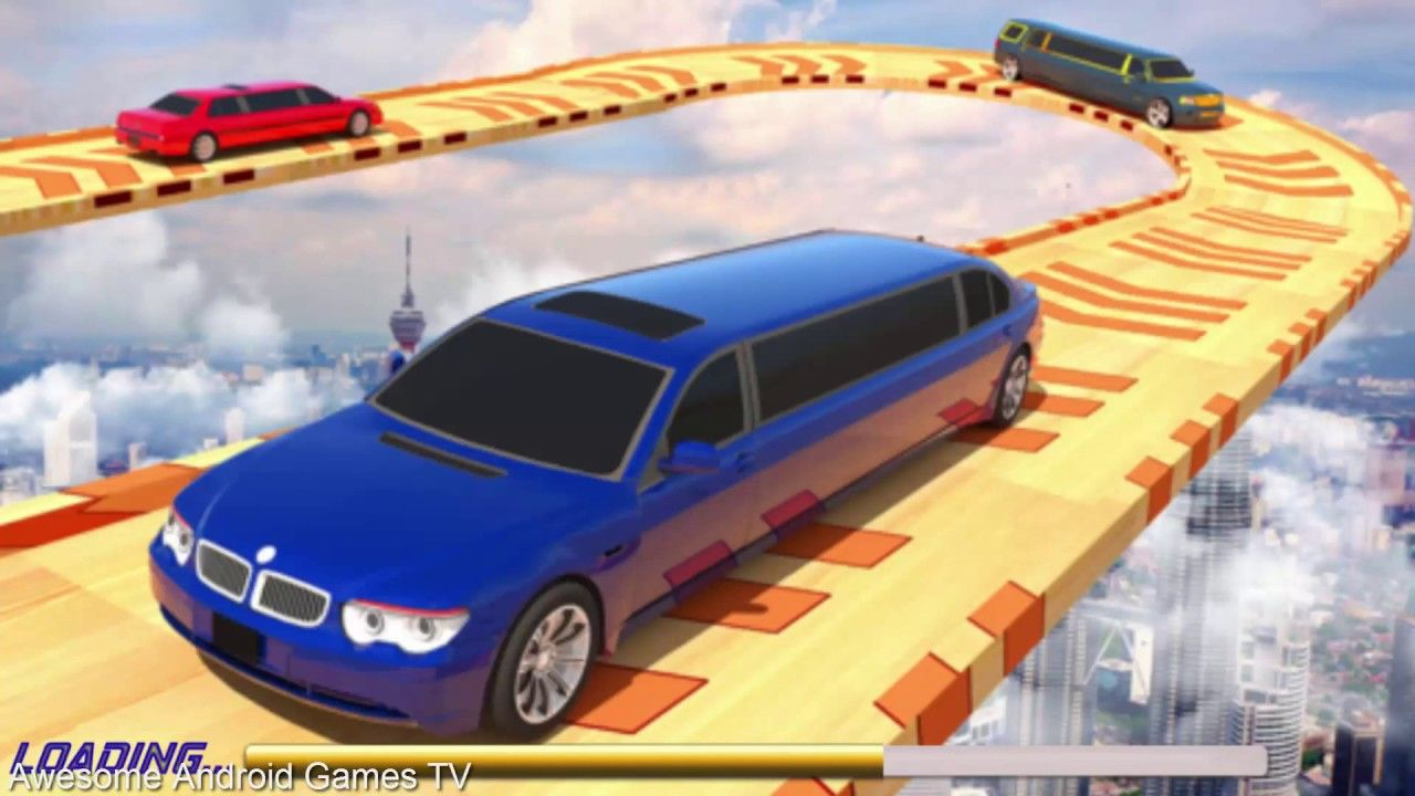 Limousine Turbo Car Racing Extreme GT Stunts Simulator