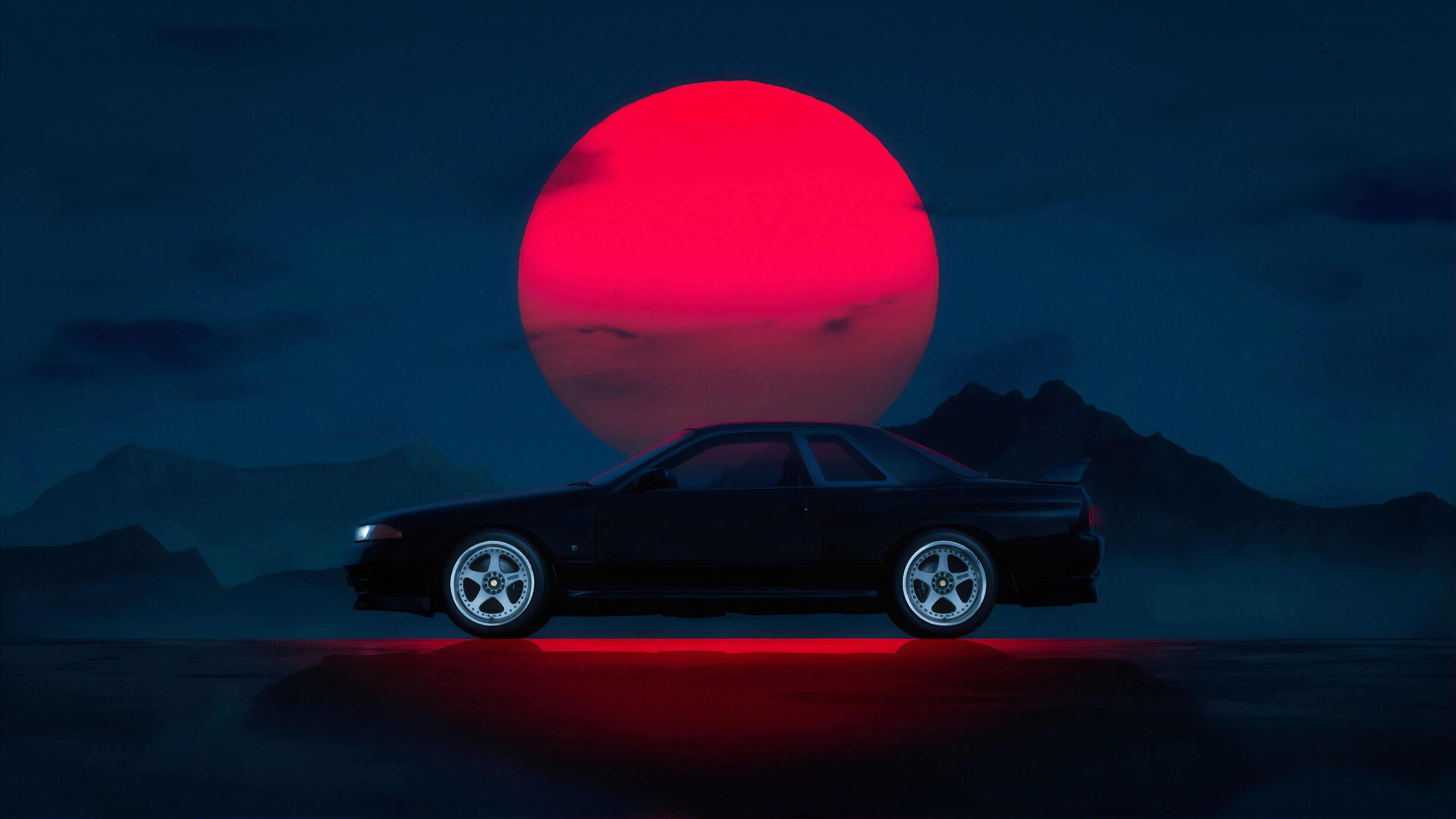 Aesthetic Jdm Car Wallpaper 4k