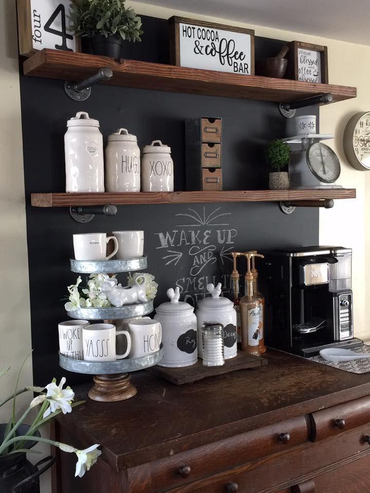 Kaffeebar Ideen Mit Offenen Regalen Ninja Kaffeebar