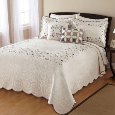 Nostalgia Home™ Agatha Bedspread - BedBathandBeyond.com | My room ...