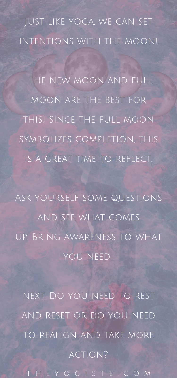 Yoga With The Moon #newmoonritual