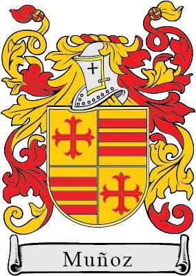 Apellido Muñoz Escudo De Armas Apellidos Escudo De Armas Escudo De La Familia