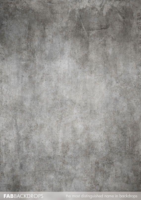 3x4 Grey Concrete Grunge Backdrop Photography Grunge
