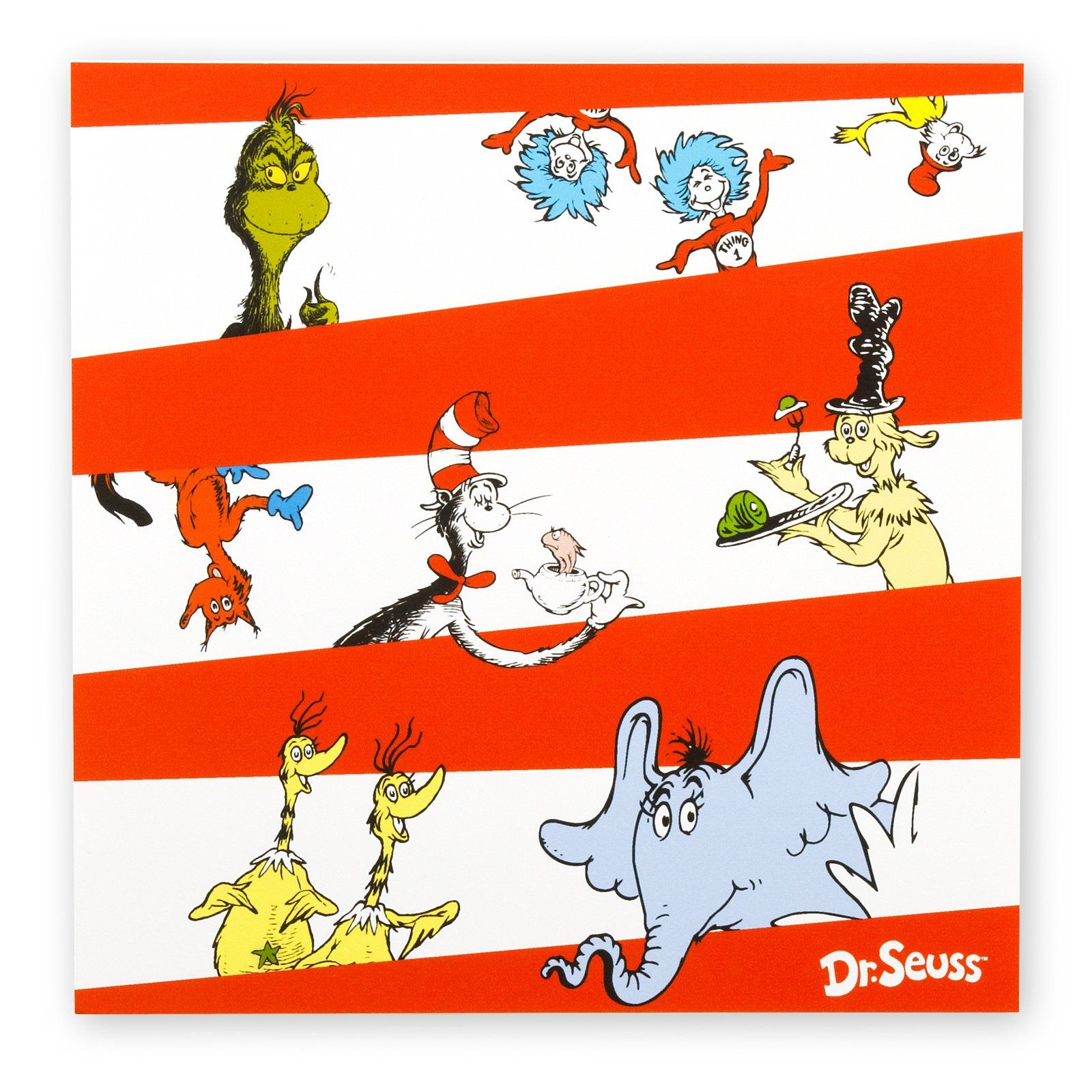 Dr. Seuss Lunch Napkins | Birthdays, Birthday party ideas and Dr ...