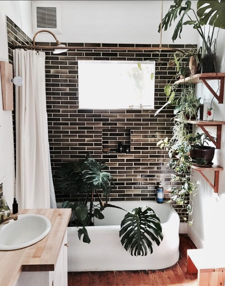 Pingl par faustine le quillec sur bathroom pinterest salle de bain salle et deco salle de - Salle de bain tropicale ...