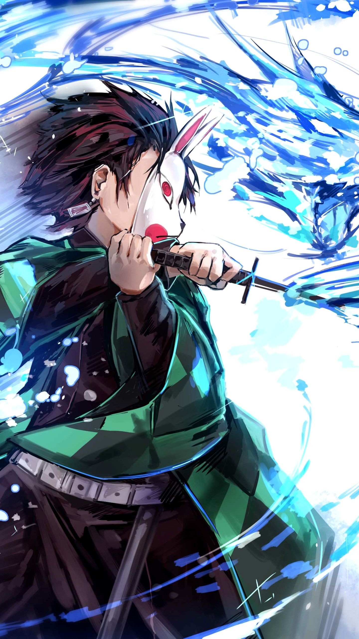 Luxury Anime Demon Slayer Kimetsu No Yaiba 1440 2560 Wallpaper
