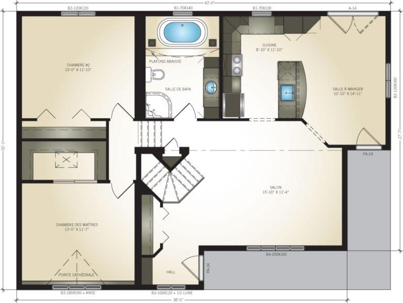 Pro-Fab Constructeur de maisons modulaires, usinées, préfabriquées - prix de construction maison