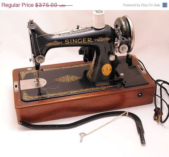 CYBER MONDAY SALE Singer Sewing Machine 40s 40 Portable With Enchanting Sewing Machine Cyber Monday