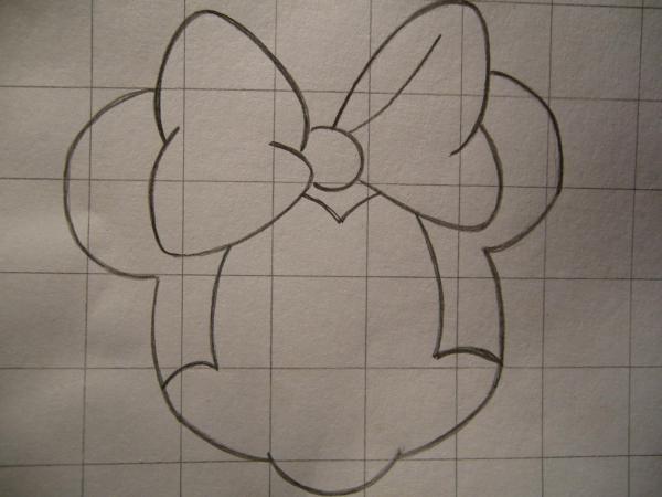 Come Disegnare Il Volto Di Minnie Torte In Pdz Baby Quilts