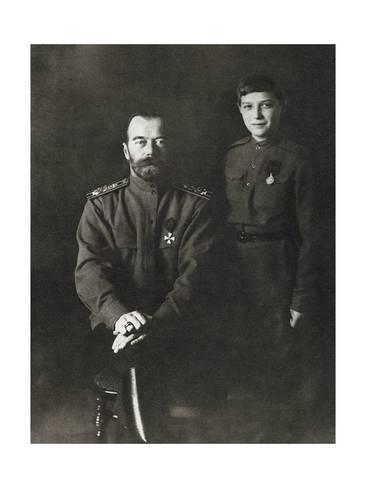 ROMANOV TSAR NICHOLAS II OF RUSSIA PRINT IMPERIAL RUSSIA