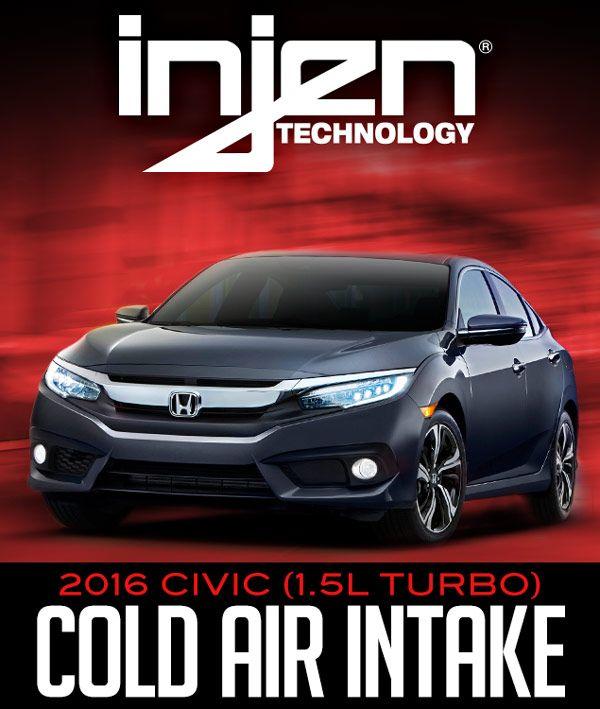 Injen SP1573BLK SP Series Black Air Intake for Honda Civic 1.5L Turbo