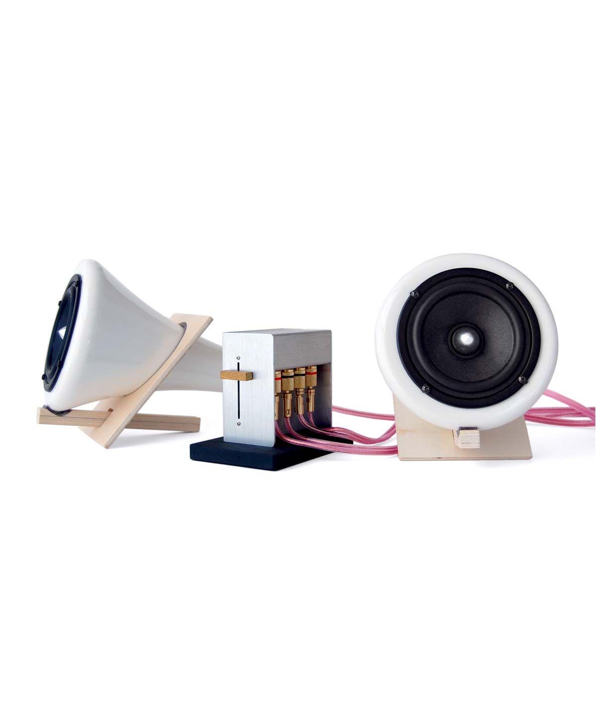 Ceramic Speakers Joey Roth Stereo Speaker Amplifier