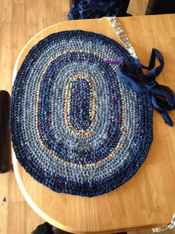 Toothbrush Rug Homemade Rugs Scandinavian Rugs Diy Rugs Rug Making Rug Toothbrush Rug Braided Rag Rugs Diy Rug