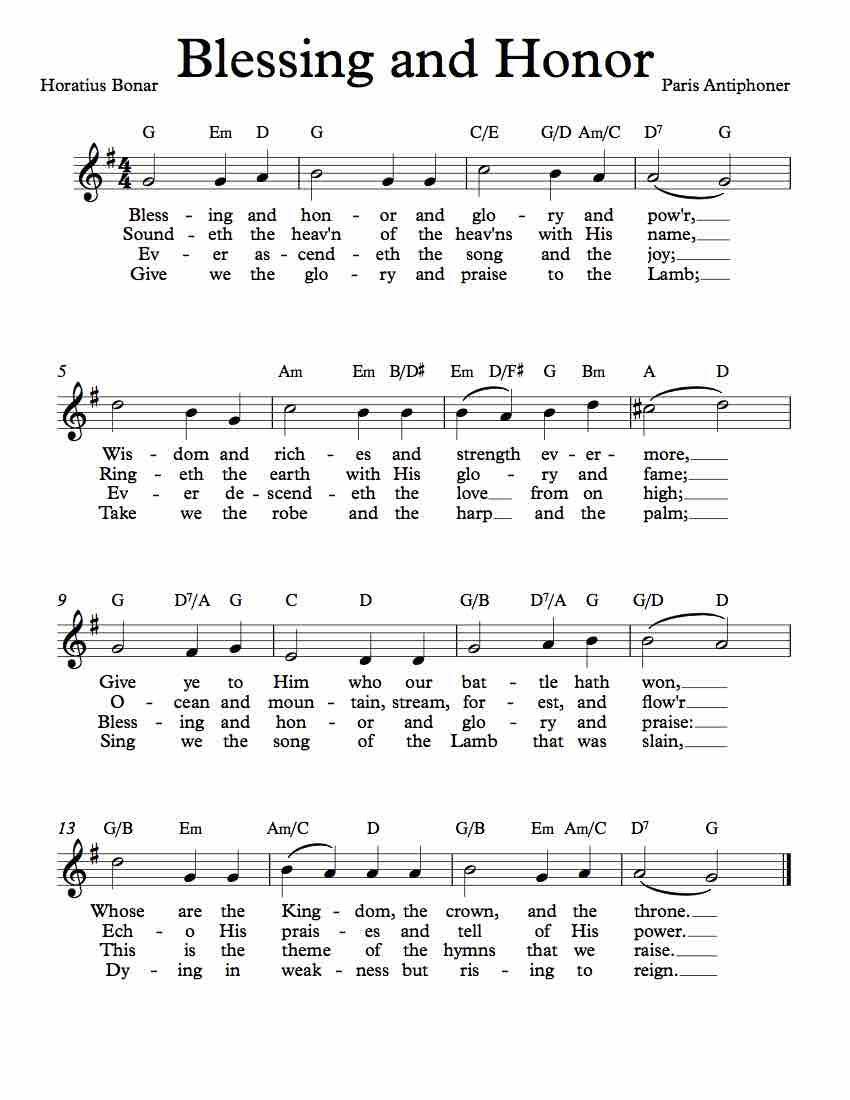 Blessing And Honor Lyrics : blessing, honor, lyrics, Sheet, Blessing, Honor, Quanta, Qualia), Christian, Lyrics,, Music,, Praise, Songs