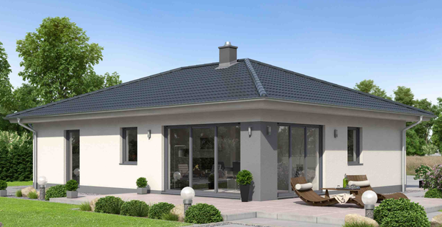 Bungalow K 91-haus günstig bauen-ytong bausatzhaus   Ideen ...