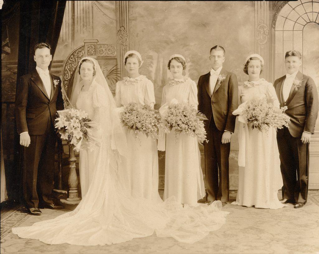 1930s wedding dress  found Wedding Detroit s  Wedding Vintage weddings and Vintage