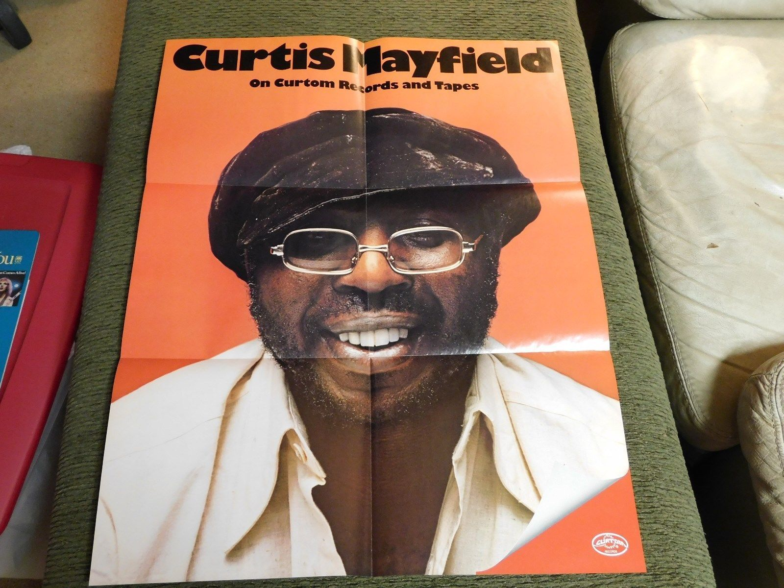 Curtis mayfield on curtom records catalogpersonality