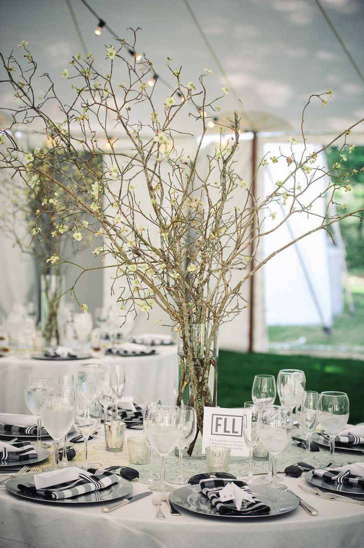 wedding centerpiece idea; photo: ATHENA BLUDE PHOTOGRAPHY | BLOOMING ...