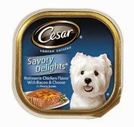 Free Cesar Canine Cuisine Dog Food Wet Dog Food Dog Breakfast