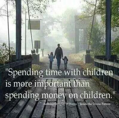 Spending Time With Children Is More Important Than Spending Money On