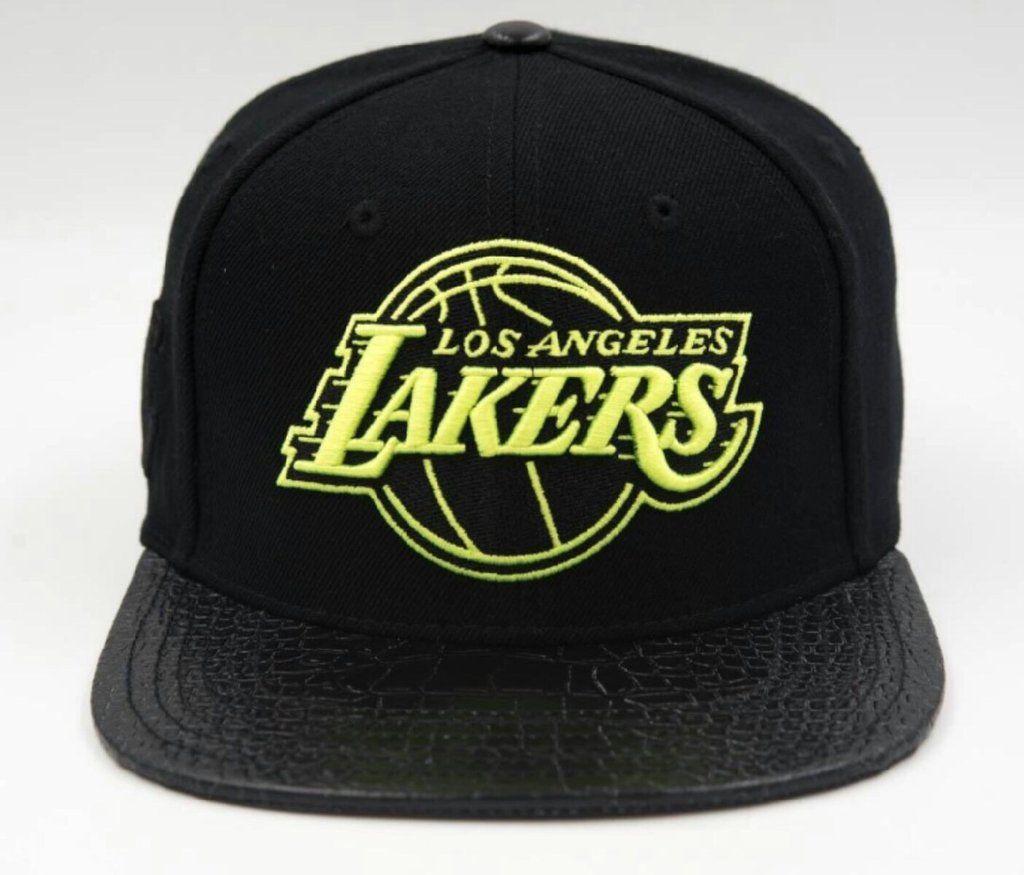 1222bb5e2ea Pro Standard Los Angeles Lakers NBA Logo Strapback Hat  Strapback  caps   hats