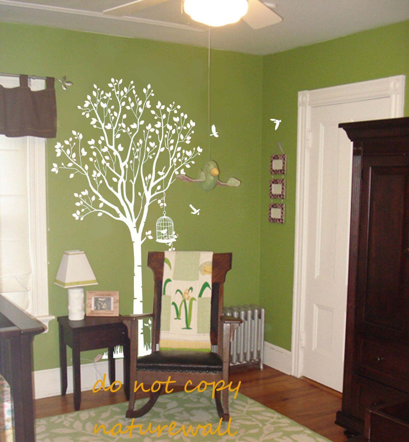Tree wall decals kids wall art wall stickers baby decal nursery