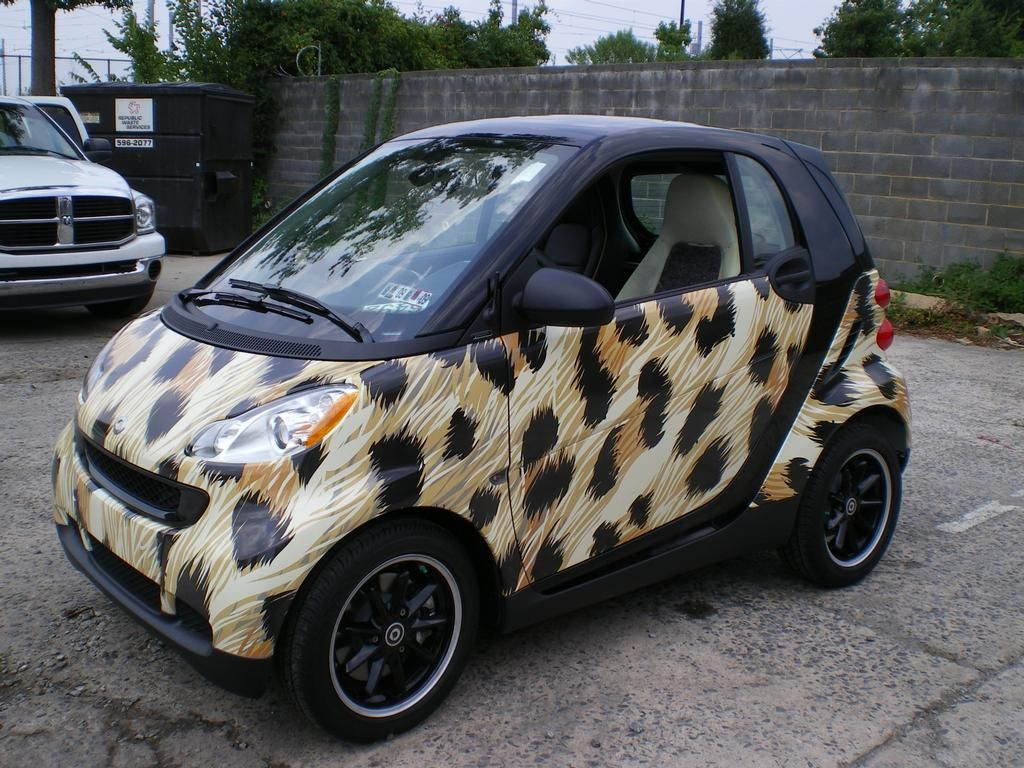 Too Funny!! Custom Smart Car | Description: Custom Smart Car Wrap.  Car Description