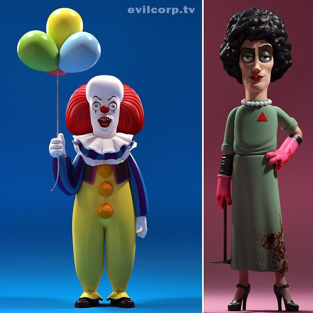 Happy 70th Birthday Tim Curry! #timcurry #stephenkingsit