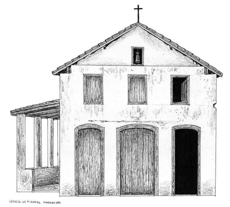 Igrejas Barrocas Brasileiras Igreja Desenho Barroco