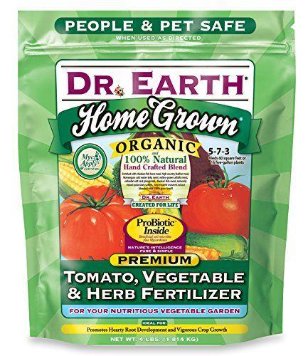 Dr. Earth Organic 5 Tomato, Vegetable & Herb Fertilizer Poly Bag Dr. Earth http://www.amazon.com/dp/B000VZRV4C/ref=cm_sw_r_pi_dp_ZMNjwb1H60D67