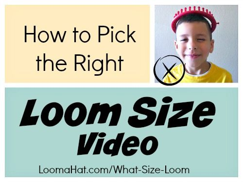 What Size Loom Video Here Is A Short Video To Help You Choose The