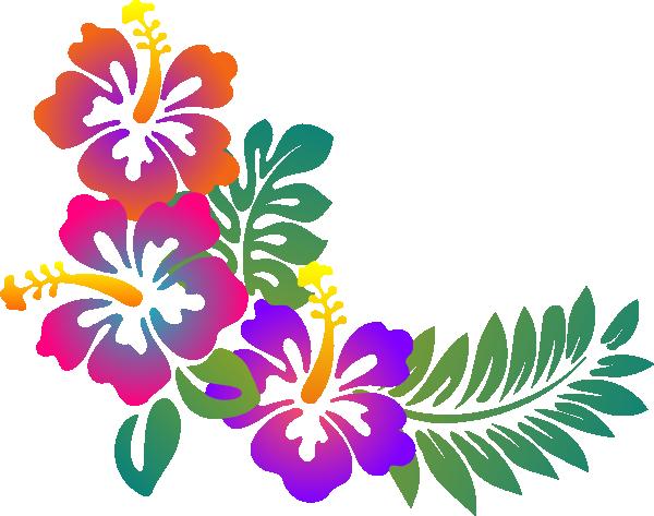 Style Guide Clker Simply Art Hawaiian Flower Drawing