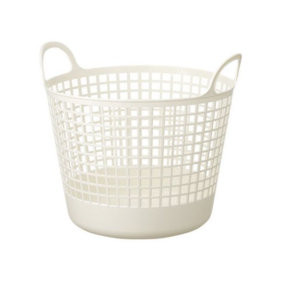Tall Plastic Laundry Basket Amusing Scandinavia Style Round Laundry Basketspolystyrenemade In Japan Decorating Design