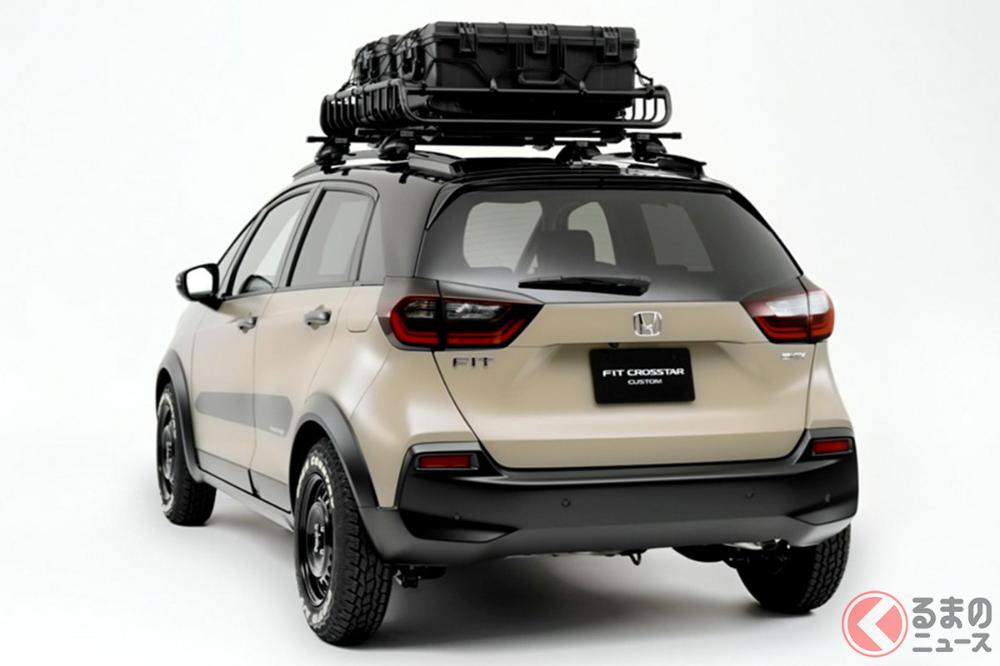 可客製小越野車 Honda 推出都會戶外風格 Fit Crosstar Custom Everyday Object In 2021