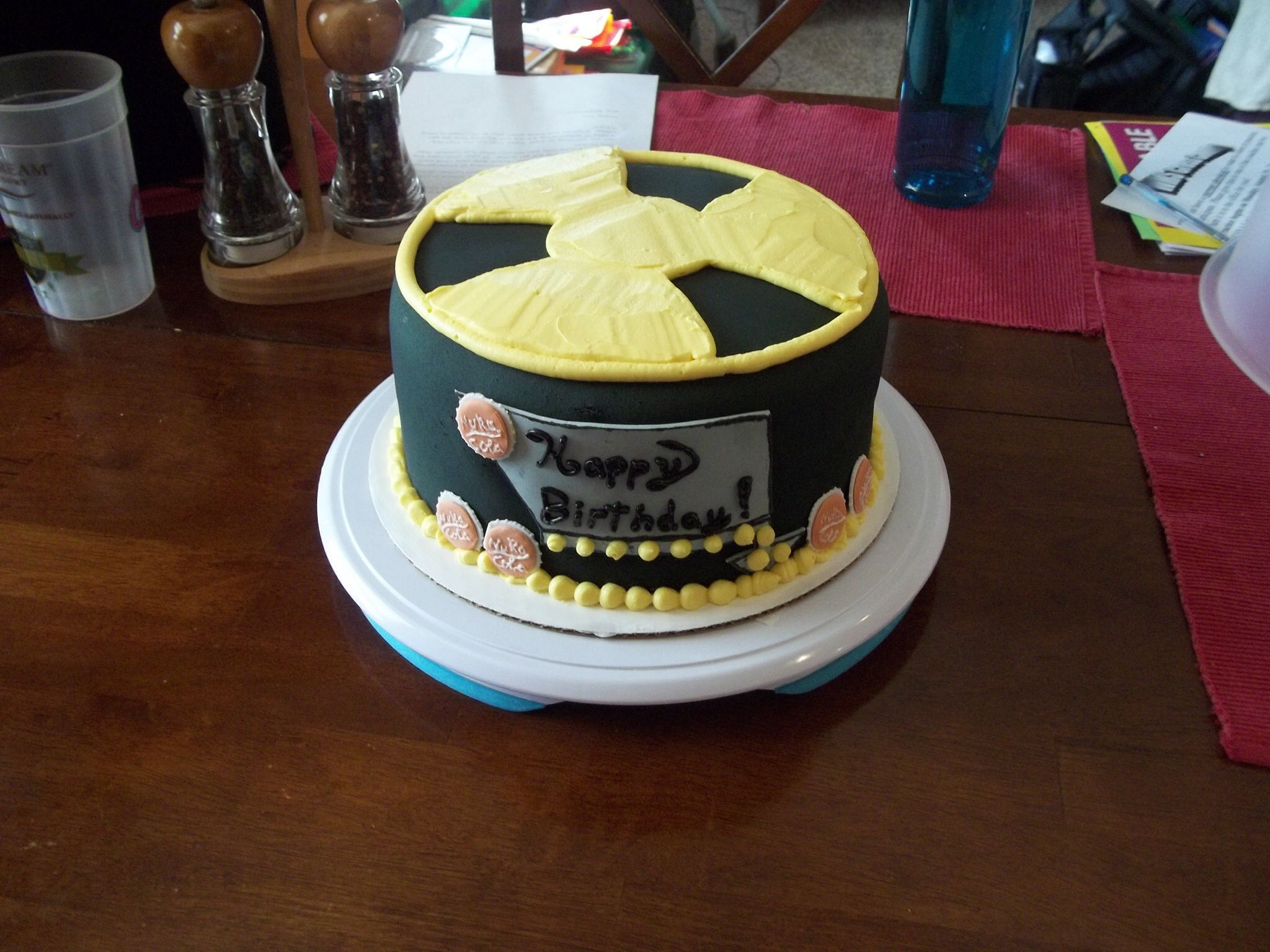 Fallout Themed Cake Themed Cakes Cake Designs Dessert Decoration